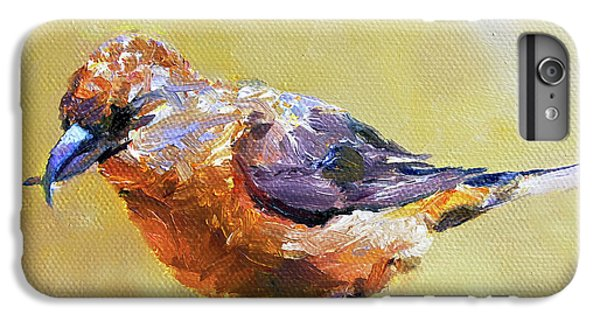 Crossbill IPhone 6 Plus Case by Jan Hardenburger
