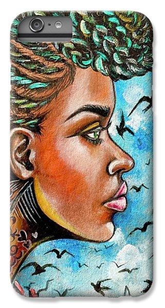 iPhone 6 Plus Case - Crowned Royal by Artist RiA