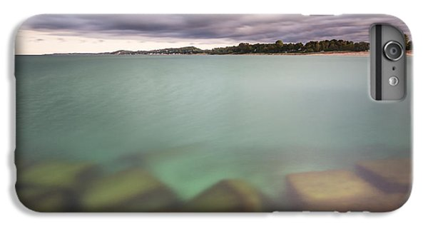 IPhone 6 Plus Case featuring the photograph Crystal Clear Lake Michigan Waters by Adam Romanowicz