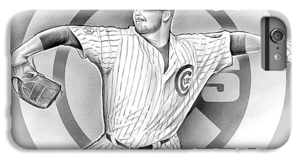 Cubs 2016 IPhone 6 Plus Case by Greg Joens