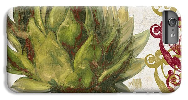 Cucina Italiana Artichoke IPhone 6 Plus Case by Mindy Sommers