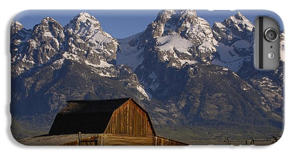 Mountain iPhone 6 Plus Case - Cunningham Cabin In Front Of Grand by Pete Oxford