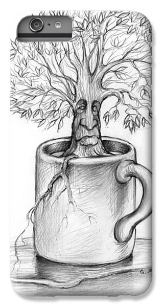 Nature iPhone 6 Plus Case - Cup-o-tree by Greg Joens