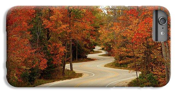 Nature Trail iPhone 6 Plus Case - Curvy Fall by Adam Romanowicz