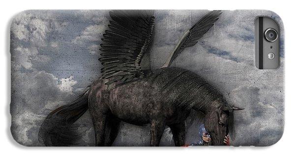 Pegasus iPhone 6 Plus Case - Custom Knapp 322 by Betsy Knapp