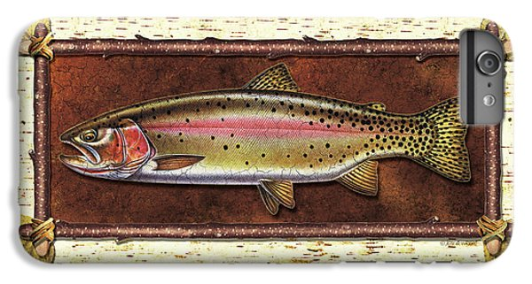 Cutthroat Trout Lodge IPhone 6 Plus Case by JQ Licensing