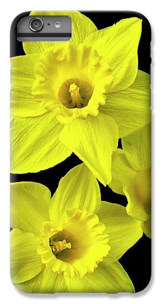 IPhone 6 Plus Case featuring the photograph Daffodils by Christina Rollo
