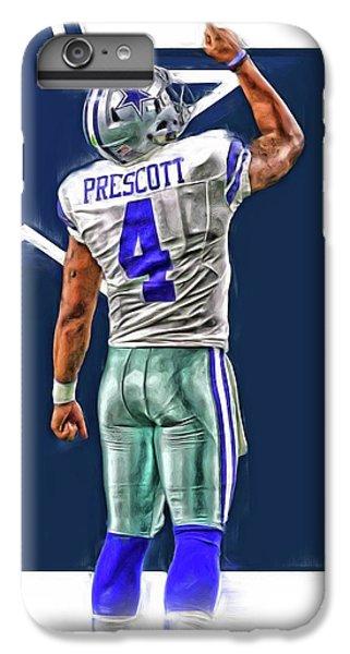 Dak Prescott Dallas Cowboys Oil Art Series 2 IPhone 6 Plus Case