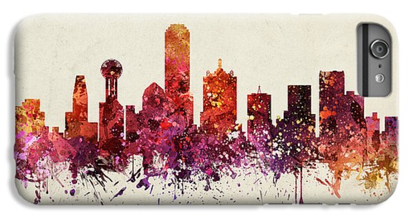 Dallas Cityscape 09 IPhone 6 Plus Case by Aged Pixel