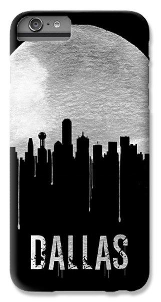 Dallas Skyline Black IPhone 6 Plus Case by Naxart Studio