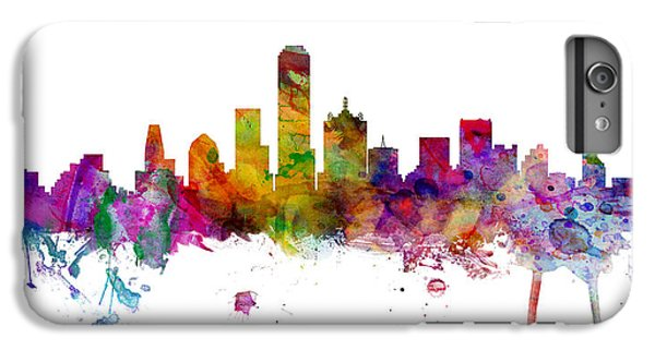 Dallas Texas Skyline Panoramic IPhone 6 Plus Case
