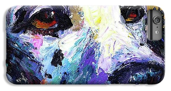 Dalmatian Dog Close-up Painting By IPhone 6 Plus Case