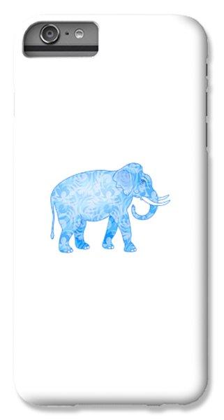 Damask Pattern Elephant IPhone 6 Plus Case