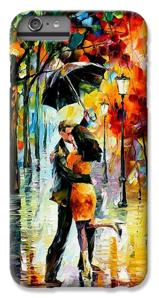 Afremov iPhone 6 Plus Case - Dance Under The Rain by Leonid Afremov