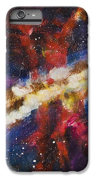 IPhone 6 Plus Case featuring the painting Dancers Of The Nebula by Yulia Kazansky
