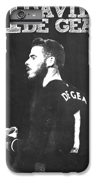 Wayne Rooney iPhone 6 Plus Case - David De Gea by Semih Yurdabak