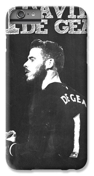David De Gea IPhone 6 Plus Case by Semih Yurdabak