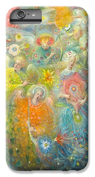 Daydream After The Music Of Max Reger IPhone 6 Plus Case by Annael Anelia Pavlova