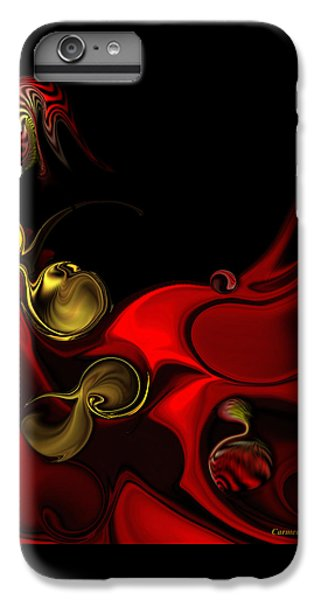 IPhone 6 Plus Case featuring the digital art Deeper Reappearance Of High Energy by Carmen Fine Art