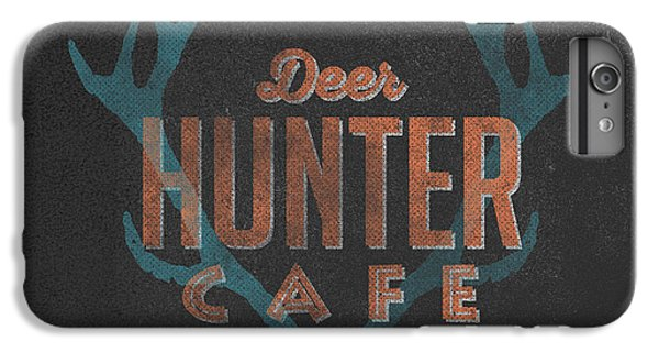 Deer iPhone 6 Plus Case - Deer Hunter Cafe by Edward Fielding