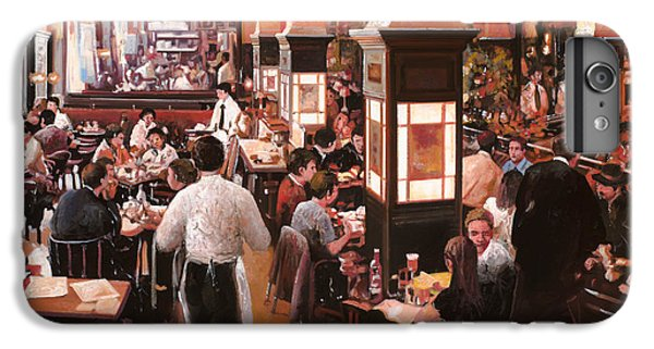 Wine iPhone 6 Plus Case - Dentro Il Caffe by Guido Borelli
