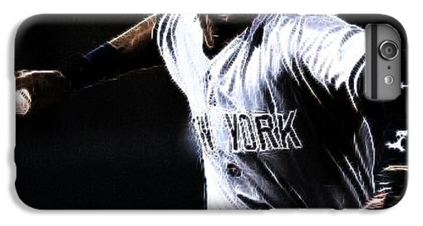 Derek Jeter IPhone 6 Plus Case by Paul Ward