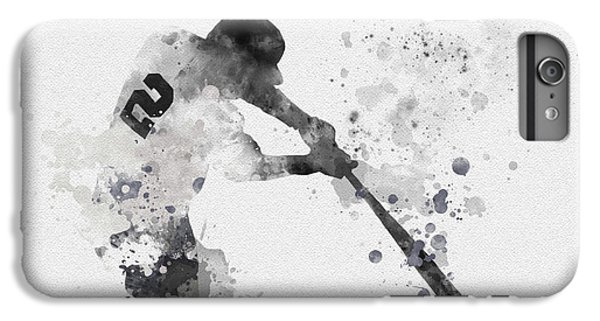 Derek Jeter IPhone 6 Plus Case by Rebecca Jenkins