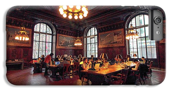 IPhone 6 Plus Case featuring the photograph Dewitt Wallace Periodical Room by Jessica Jenney