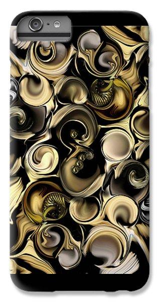 IPhone 6 Plus Case featuring the digital art Dimension Vs Shape by Carmen Fine Art