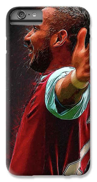 Dimitri Payet IPhone 6 Plus Case by Semih Yurdabak