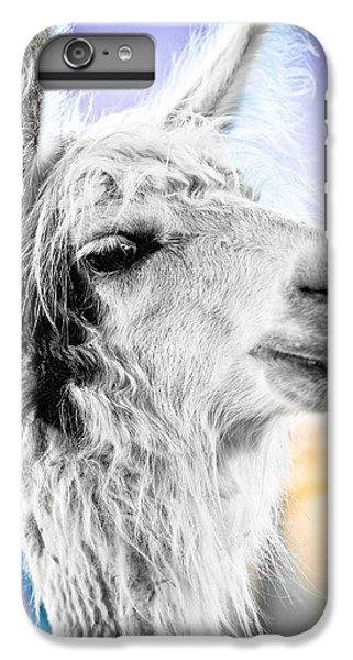 Dirtbag Llama IPhone 6 Plus Case by TC Morgan