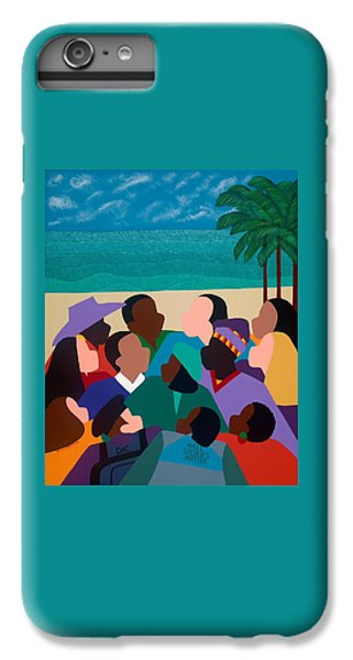 iPhone 6 Plus Case - Diversity In Cannes by Synthia SAINT JAMES