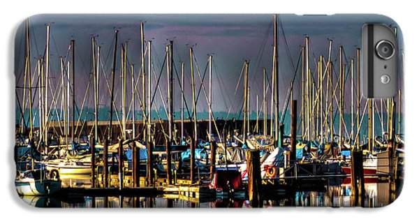 Docked Sailboats IPhone 6 Plus Case by David Patterson