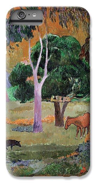 Dominican Landscape IPhone 6 Plus Case by Paul Gauguin