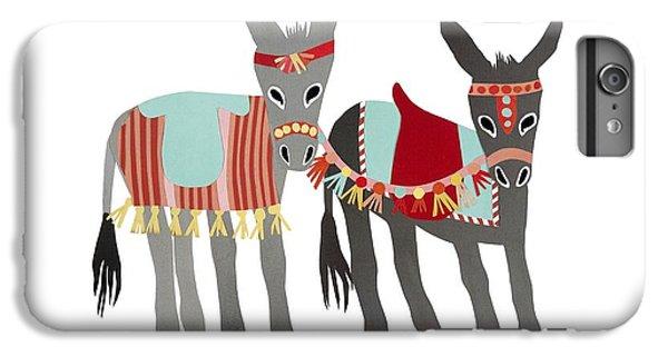Donkeys IPhone 6 Plus Case by Isoebl Barber