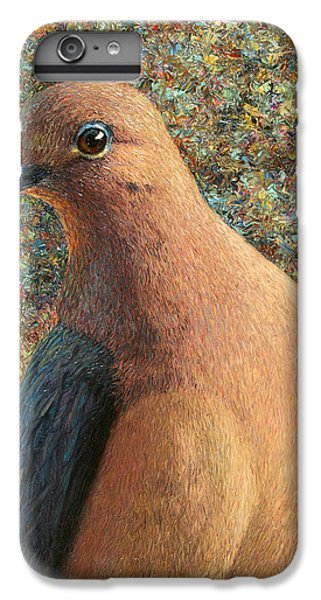 Dove iPhone 6 Plus Case - Dove by James W Johnson
