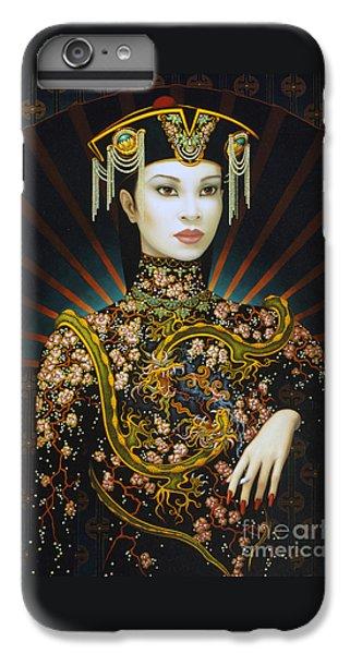 Dragon iPhone 6 Plus Case - Dragon Smoke by Jane Whiting Chrzanoska