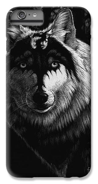 Dragon iPhone 6 Plus Case - Dragon Wolf by Stanley Morrison