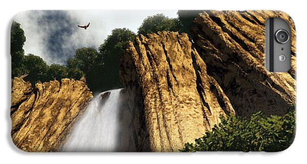 Dragons Den Canyon IPhone 6 Plus Case by Richard Rizzo