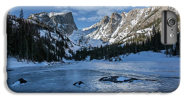 IPhone 6 Plus Case featuring the photograph Dream Lake Morning by Aaron Spong