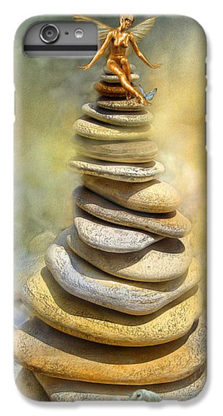 Fairy iPhone 6 Plus Case - Dreaming Stones by Carol Cavalaris