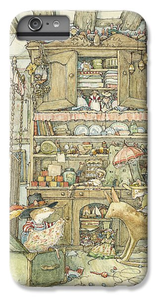Mouse iPhone 6 Plus Case - Dressing Up At The Old Oak Palace by Brambly Hedge