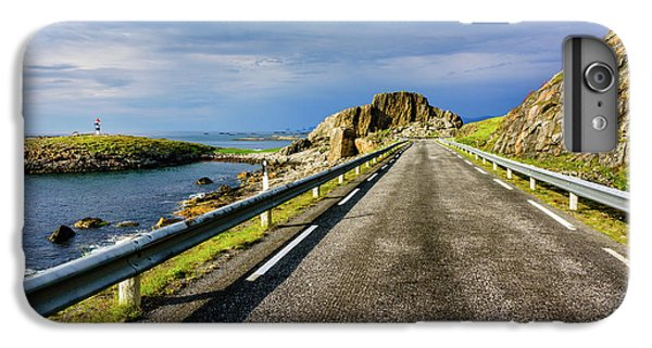 Driving Along The Norwegian Sea IPhone 6 Plus Case