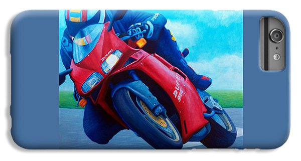 Ducati 916 IPhone 6 Plus Case by Brian  Commerford