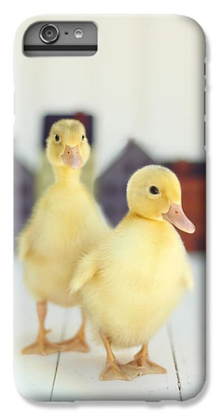 Ducks In The Neighborhood IPhone 6 Plus Case by Amy Tyler