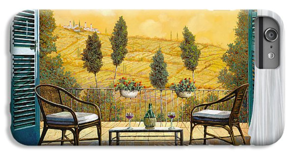 Wine iPhone 6 Plus Case - due bicchieri di Chianti by Guido Borelli