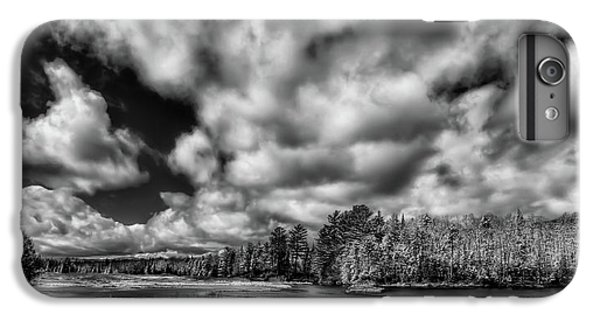 IPhone 6 Plus Case featuring the photograph Dusting Of Snow On The River by David Patterson
