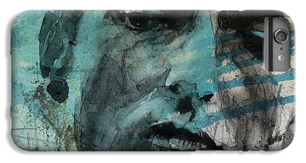 Bob Dylan iPhone 6 Plus Case - Dylan - Retro  Maggies Farm No More by Paul Lovering
