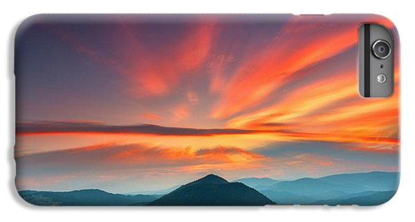 Mountain Sunset iPhone 6 Plus Case - Eagle Eye by Evgeni Dinev