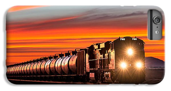 Train iPhone 6 Plus Case - Early Morning Haul by Todd Klassy
